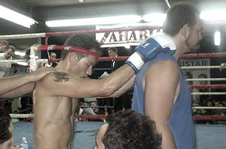 Raymond Königs Muay Thai fight